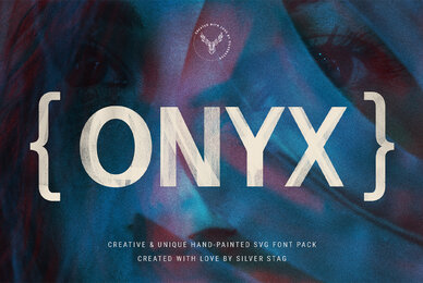 ONIX   Hand Painted SVG Font