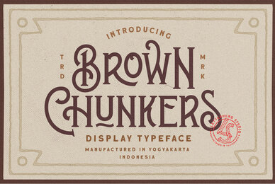 Brown Chunkers