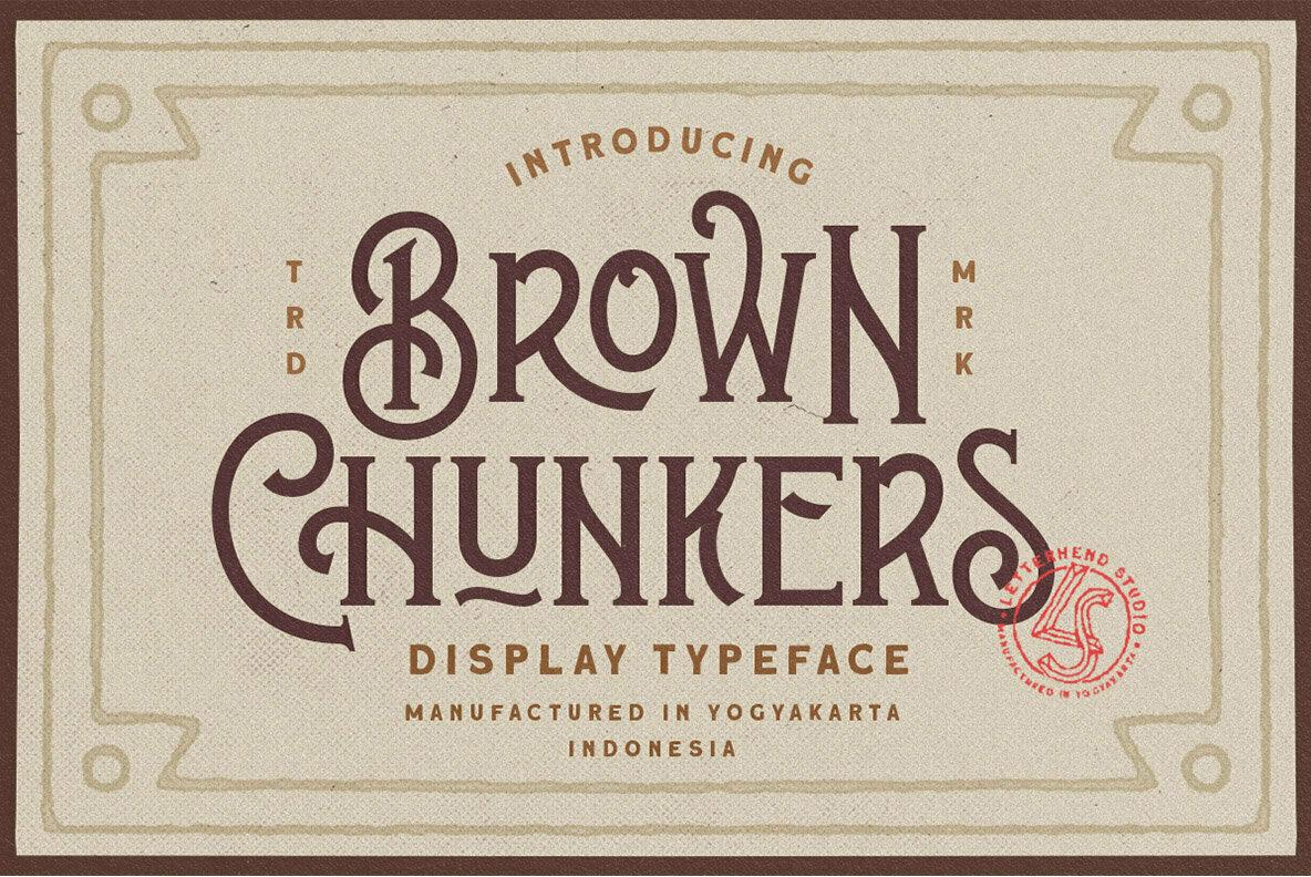 Brown Chunkers