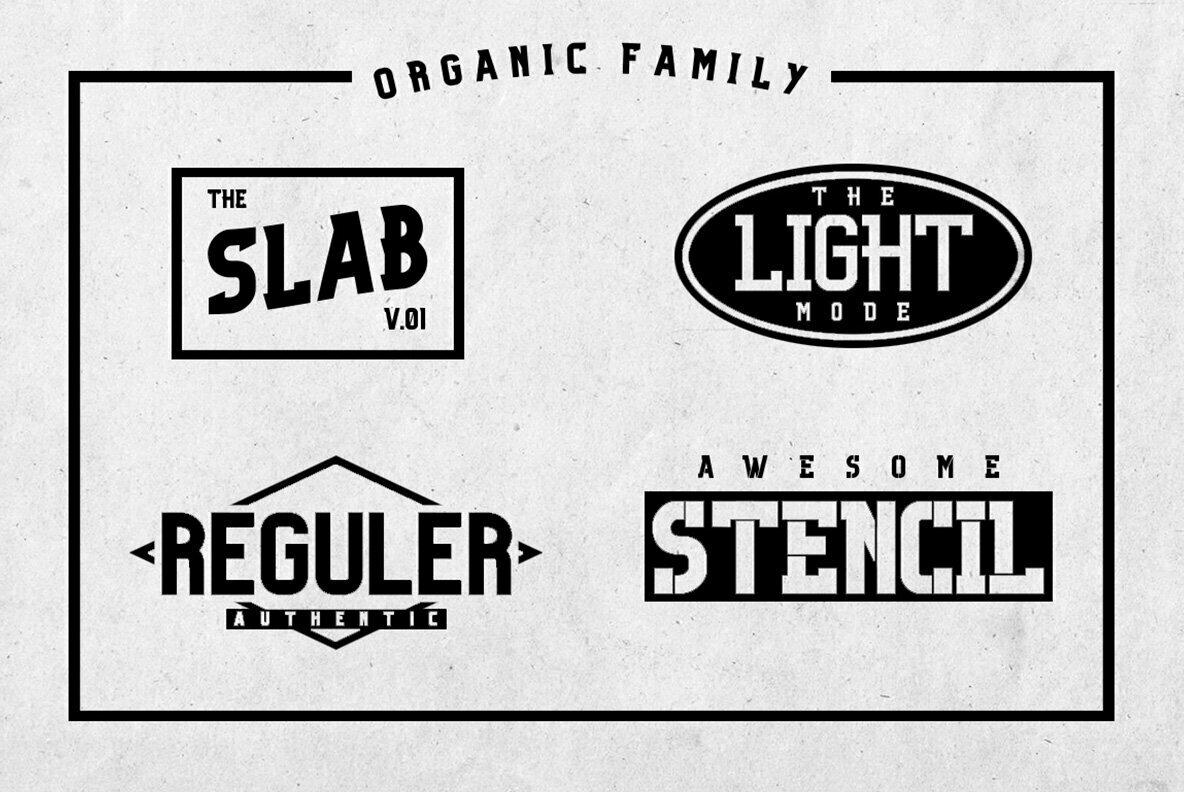 Organic Slab