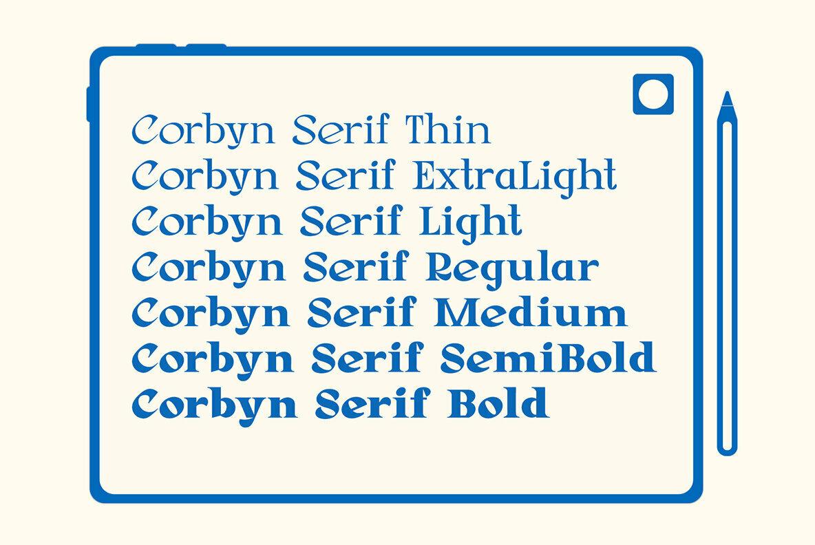 Corbyn Serif