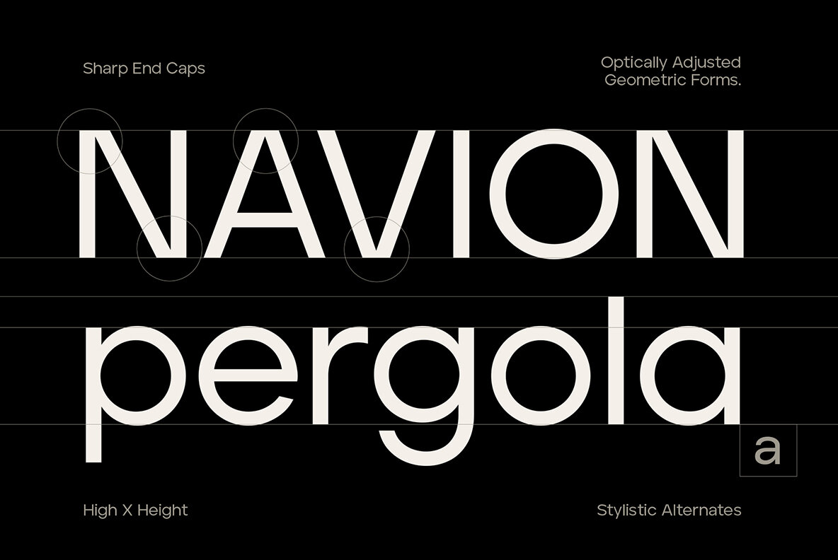 Aventa Variable Typeface