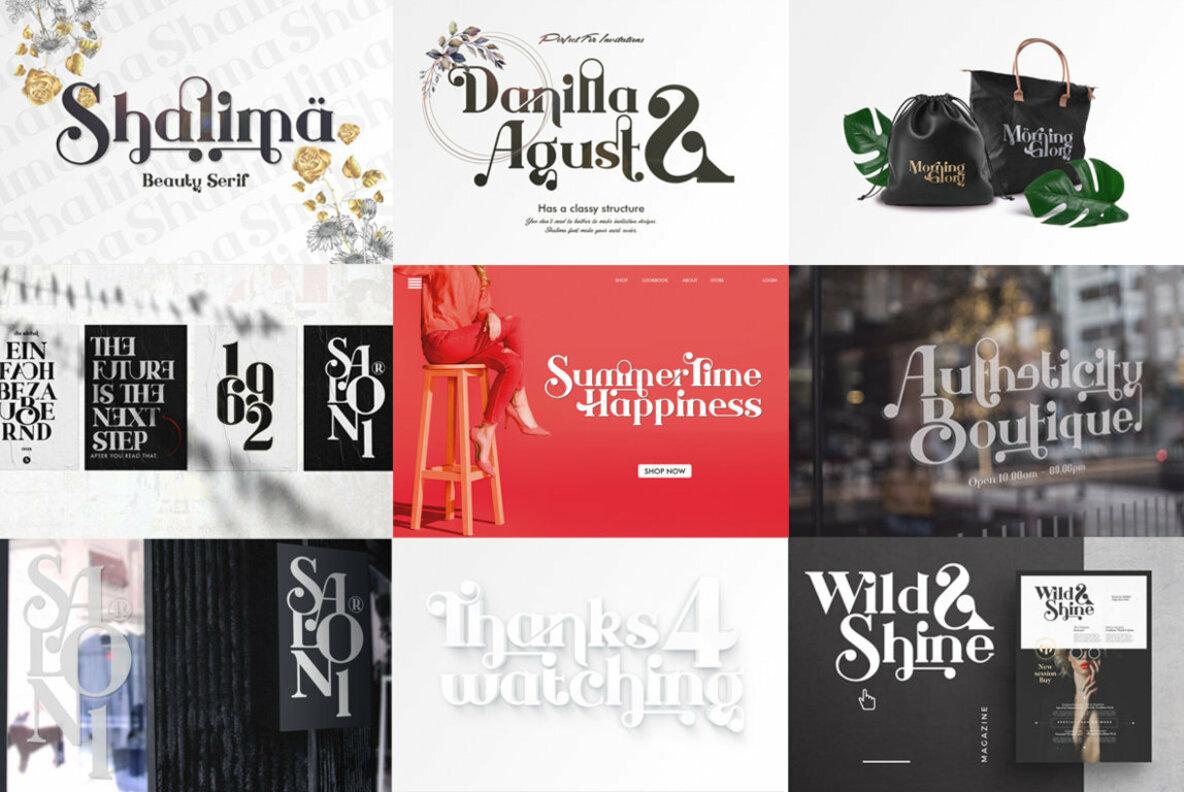 Agung Suwandi Font Collection