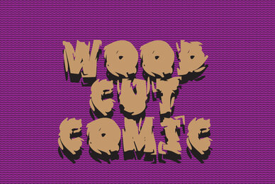 Wood Cut Comic