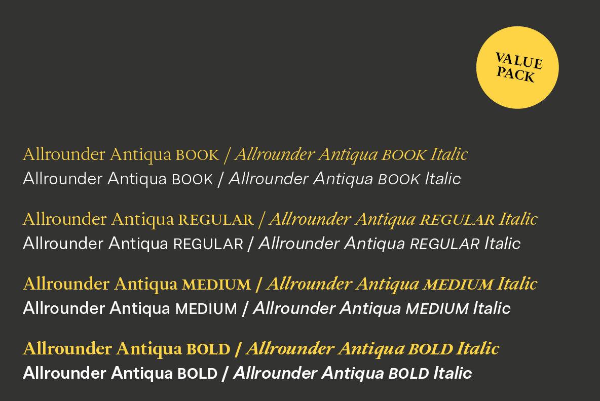 Allrounder Antiqua