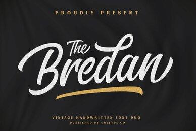 The Bredan Font Duo