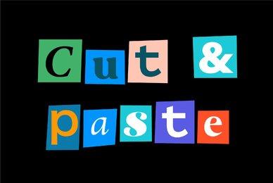 Cut   Paste