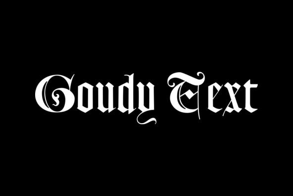 LTC Goudy Text