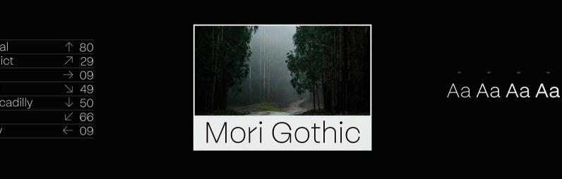 Mori Gothic