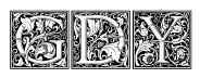 LTC Goudy Initials