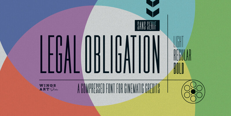 Legal Obligation Sans Serif