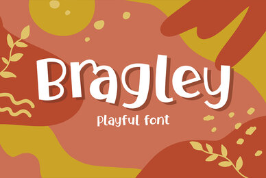 Bragley Font with Extras