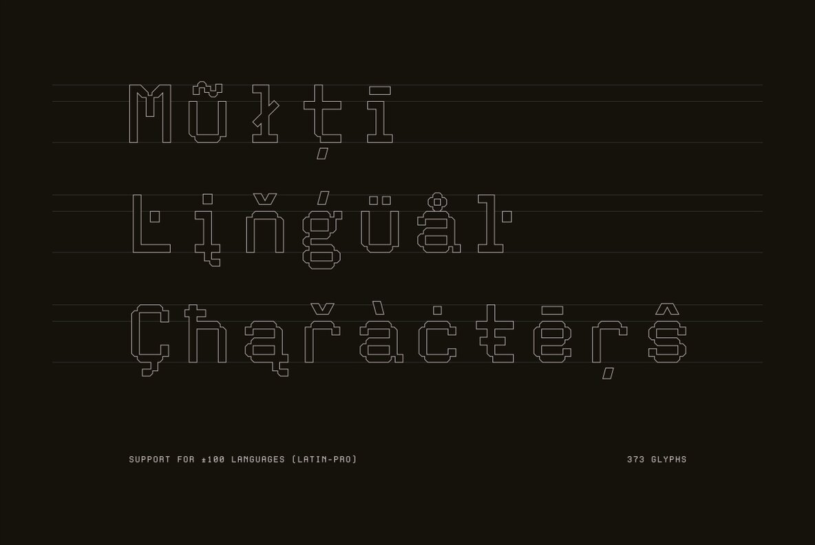 Download Aux Mono - Desktop Font & WebFont - YouWorkForThem