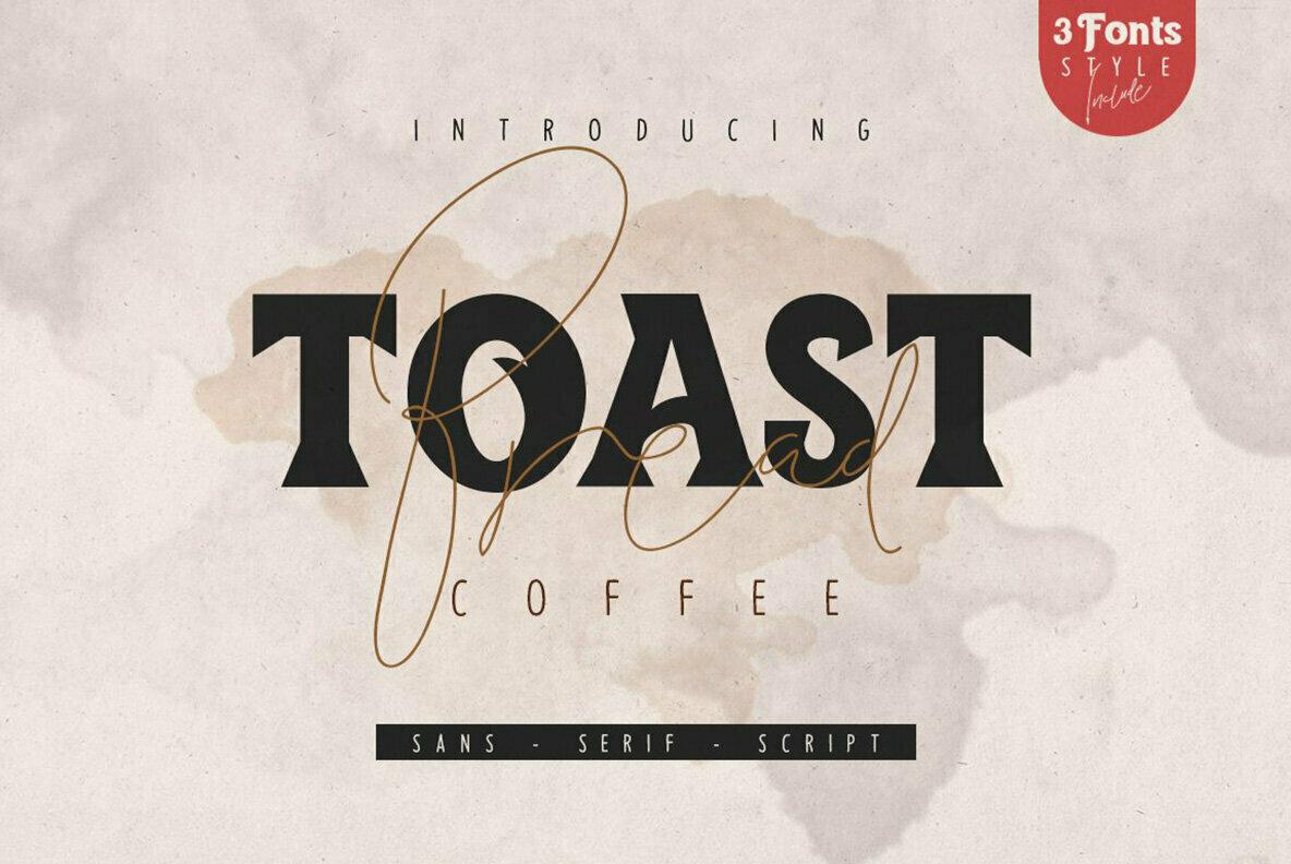 Toast Bread Coffee