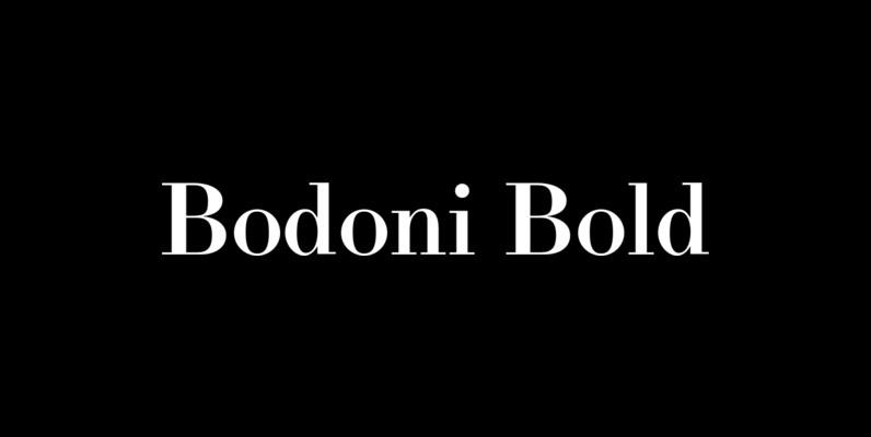 LTC Bodoni Bold
