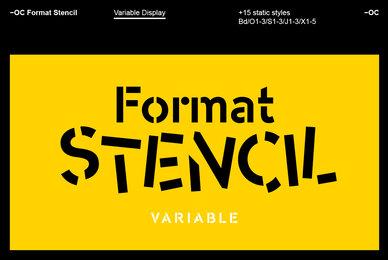 OC Format Stencil