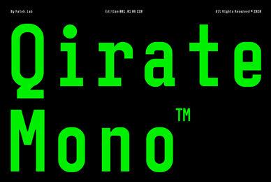 Qirate Mono