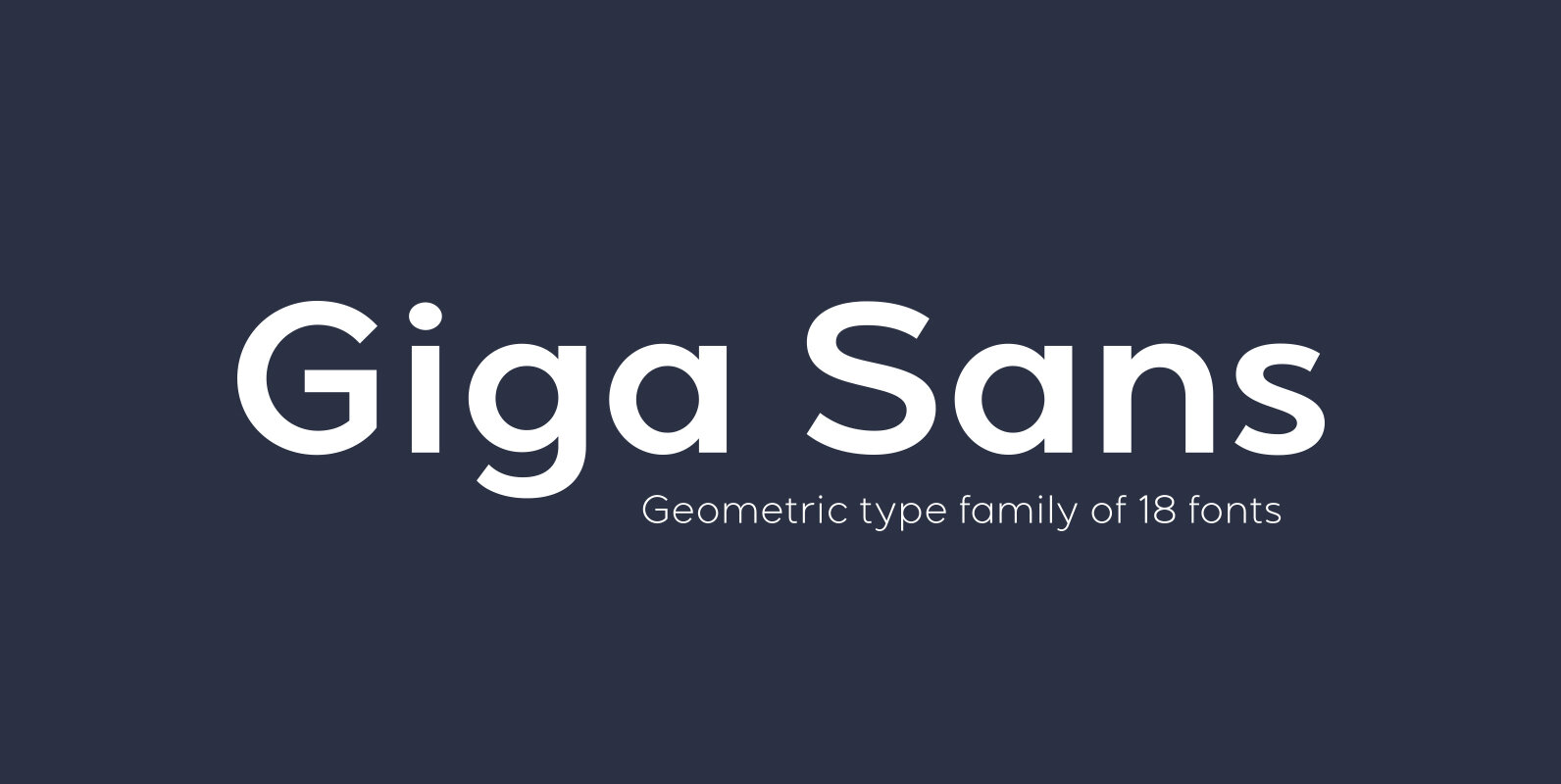 Giga Sans