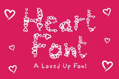 Heart Font