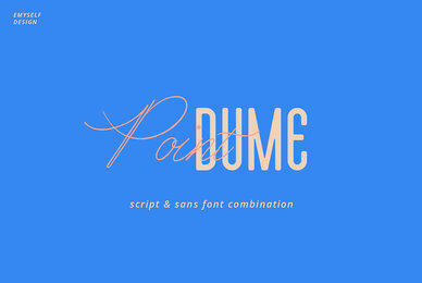Point Dume Font Duo