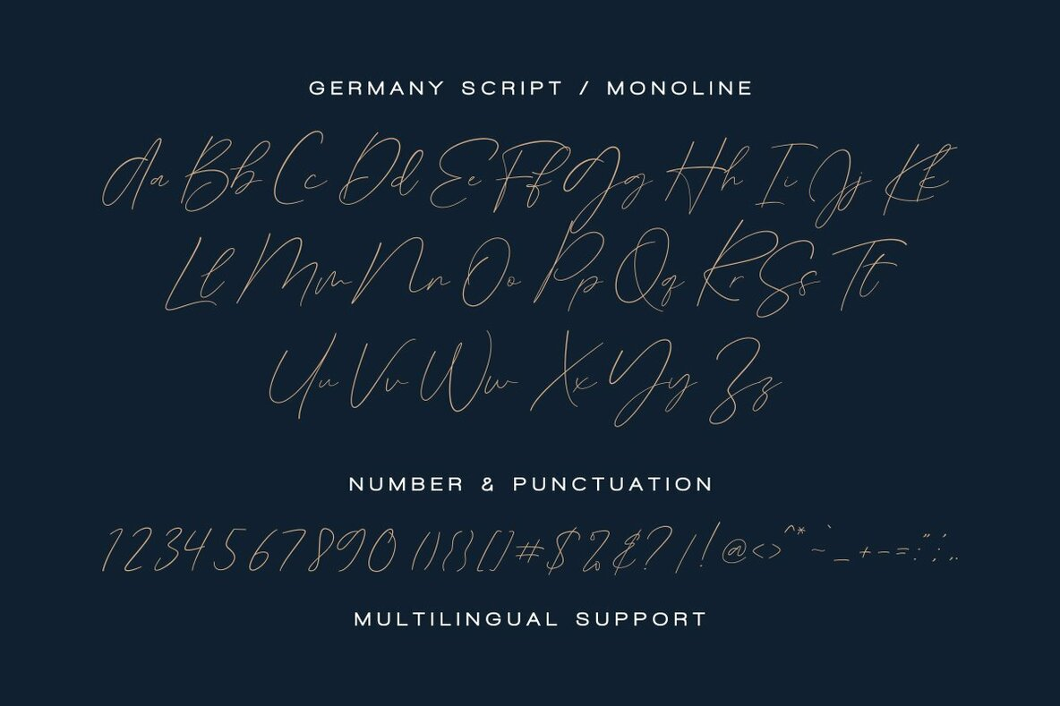 Germany Font Duo