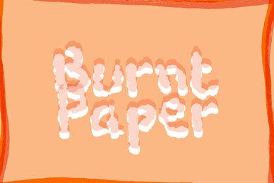 Burnt Paper