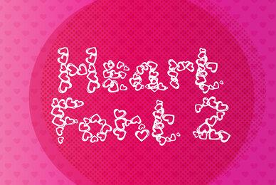 Heart Font 2