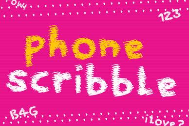 Phone Scribble