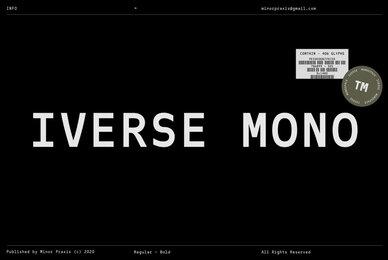 Iverse Mono