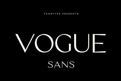 Vogue Sans