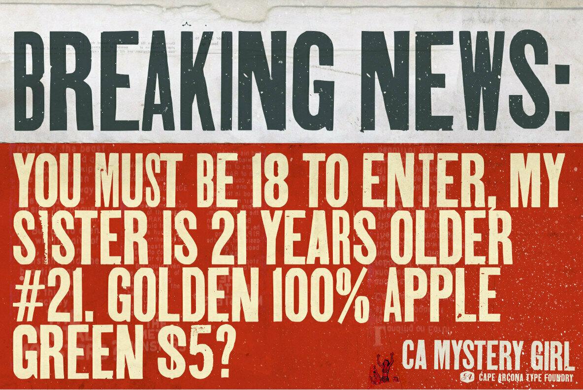 CA Mystery Girl