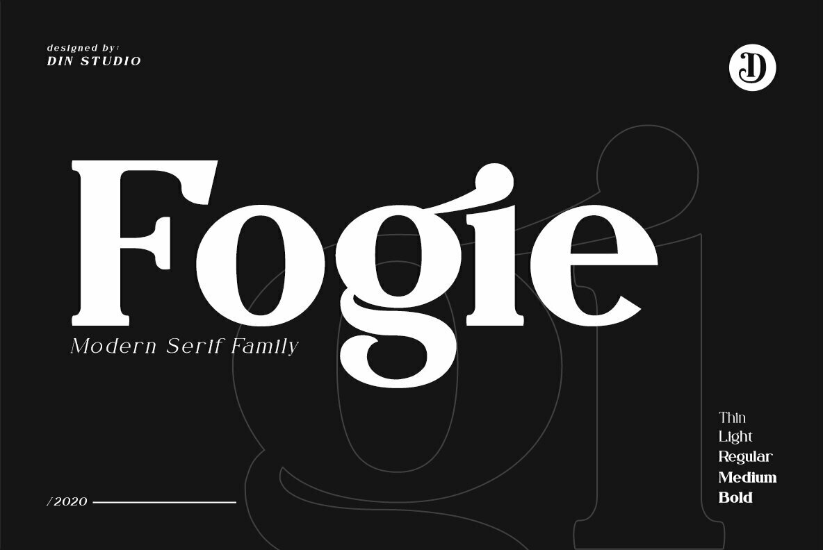 Download Fogie - Desktop Font & WebFont - YouWorkForThem