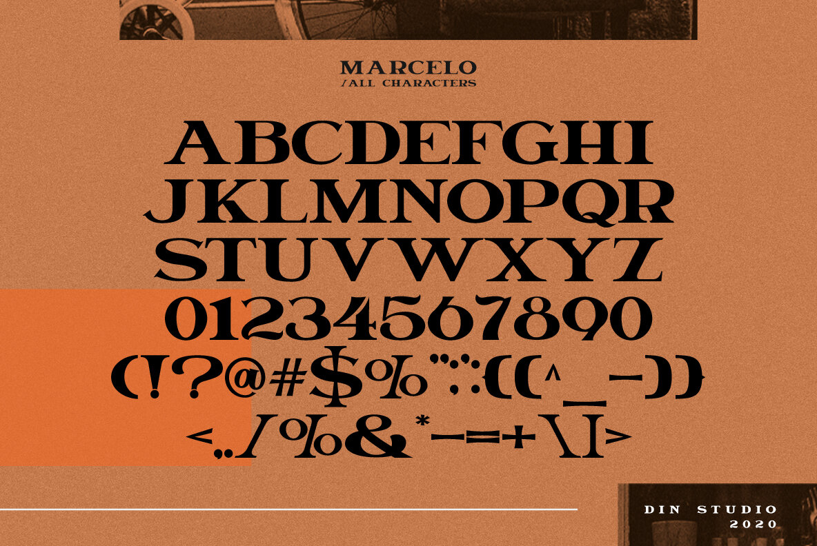 Download Marcelo - Desktop Font & WebFont - YouWorkForThem