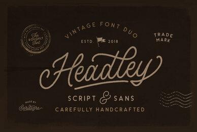 Headley Font Duo