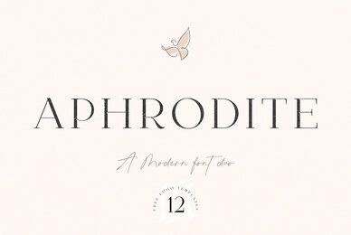 Aphrodite Font Duo