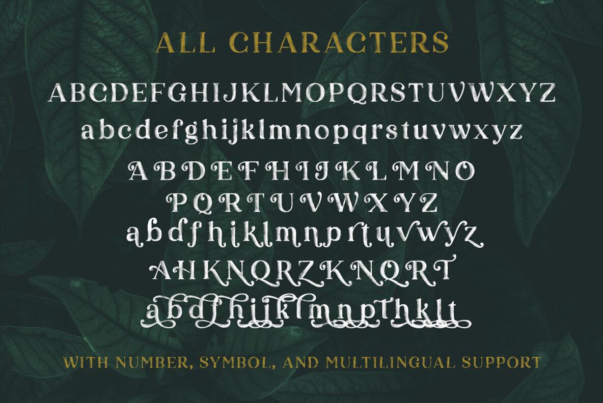 Karelle SVG Font