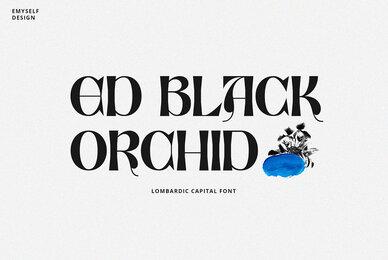 ED Black Orchid
