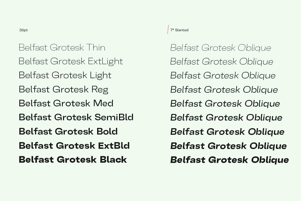 Belfast Grotesk