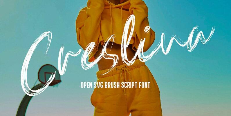 Creslina SVG Font