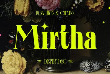 Mirtha Display