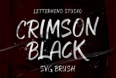 Crimson Black SVG