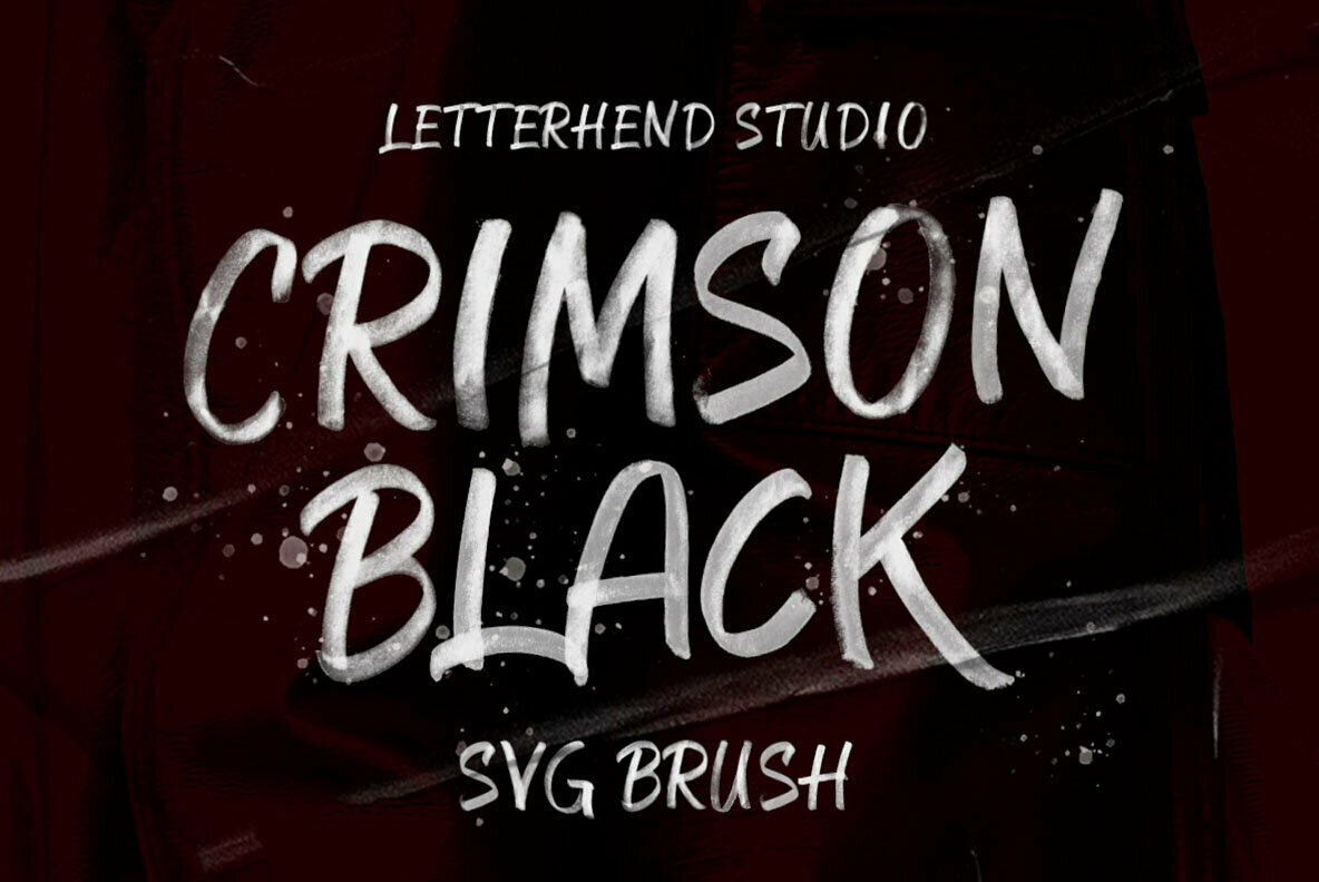 Crimson Black SVG