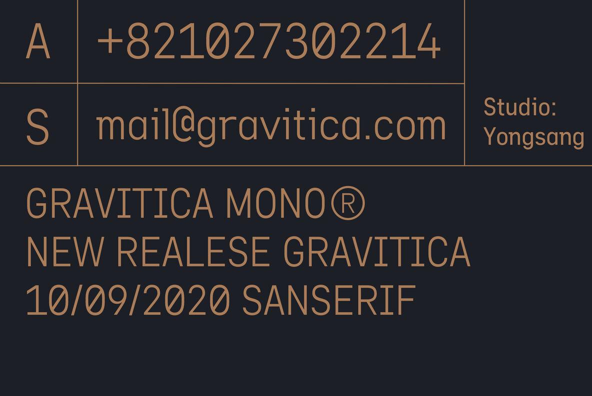 Gravitica Mono