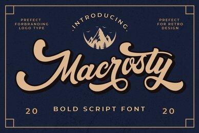 Macrosty