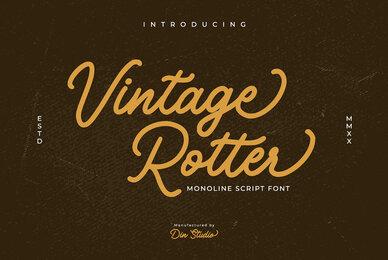 Vintage Rotter