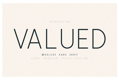 Valued