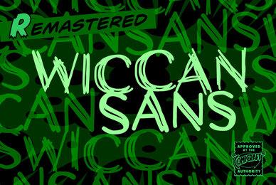 Wiccan Sans