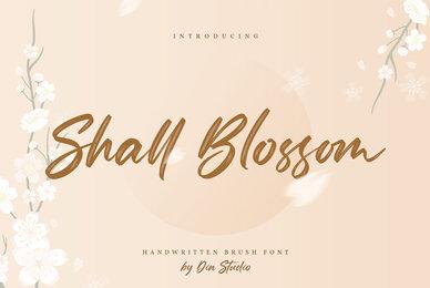Shall Blossom