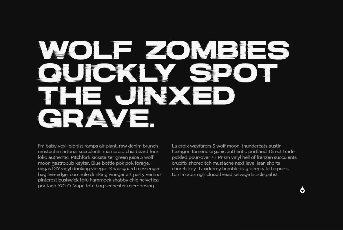 Hype SVG Font