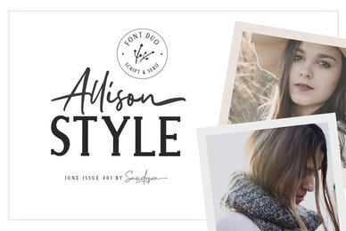 Allison Style Font Duo